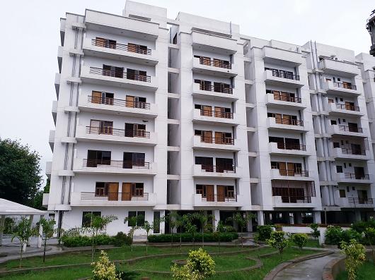 Ganpati estate back